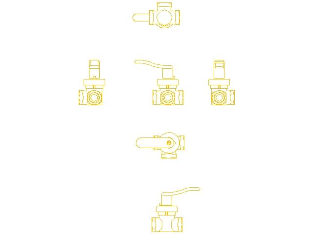 Смесительно-поворотный клапан без привода Danfoss HRB 3 ду 25 1″ 065Z0406