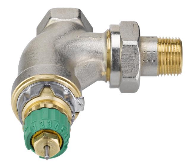 Двутрубный радиаторный клапан Danfoss RA-DV ду 15 013G7714