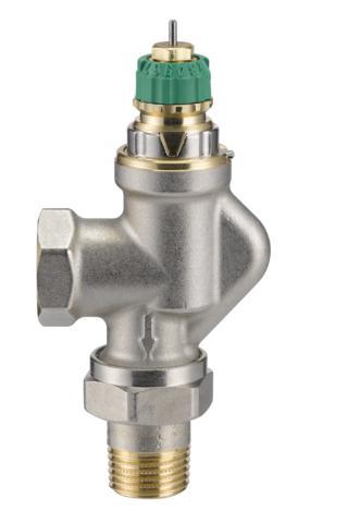 Двутрубный радиаторный клапан Danfoss RA-DV ду 20 013G7716