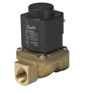 Электромагнитный клапан прямого действия Danfoss EV225B ду 10 1/2″ 032U380431