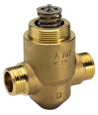 Клапан регулирующий седельный двухходовой Danfoss VZ 2 c наружной резьбой ду 20 3/4″ 065Z5320