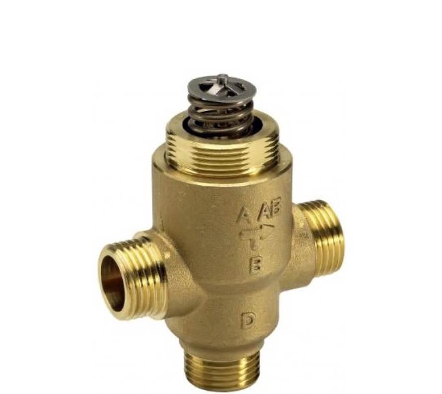Клапан регулирующий седельный трехходовой Danfoss VZ 3 c наружной резьбой ду 20 3/4″ 065Z5420