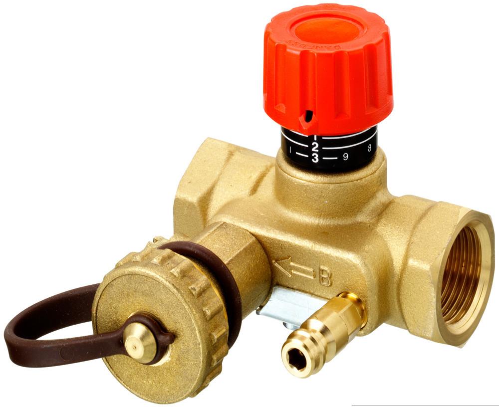 Балансировочный клапан: принцип работы, устройство, назначение и эксплуатация