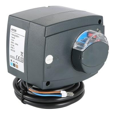 Электропривод поворотный Valtec VT.M106.0 трехпозиционный для смесительного клапана VT.M106.0.230