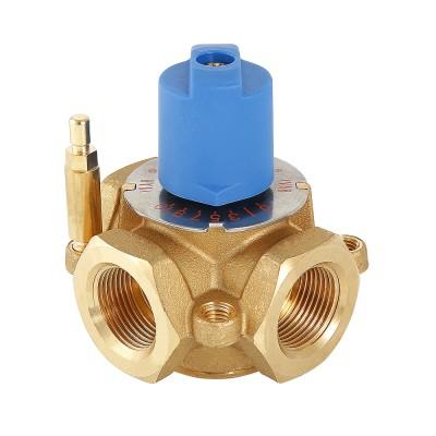 Смесительный клапан Valtec VT.MIX03.G 3/4″ ду 20 ВР трехходовой разделительный VT.MIX03.G.05