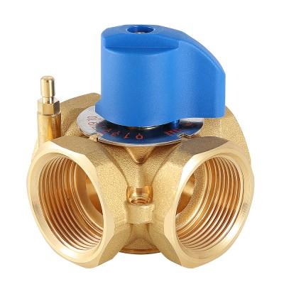 Смесительный клапан Valtec VT.MIX04.G 1″ ду 25 ВР четырехходовой разделительный VT.MIX04.G.06