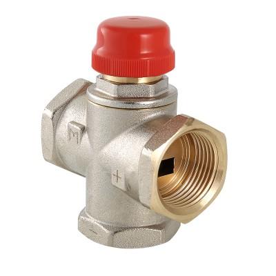 Термостатический смесительный клапан Valtec VT.MR01.N 1″ ду 25 ВР трехходовой VT.MR01.N.0603