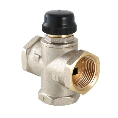 Термостатический смесительный клапан Valtec VT.MR02.N 1″ ду 25 ВР трехходовой VT.MR02.N.0603
