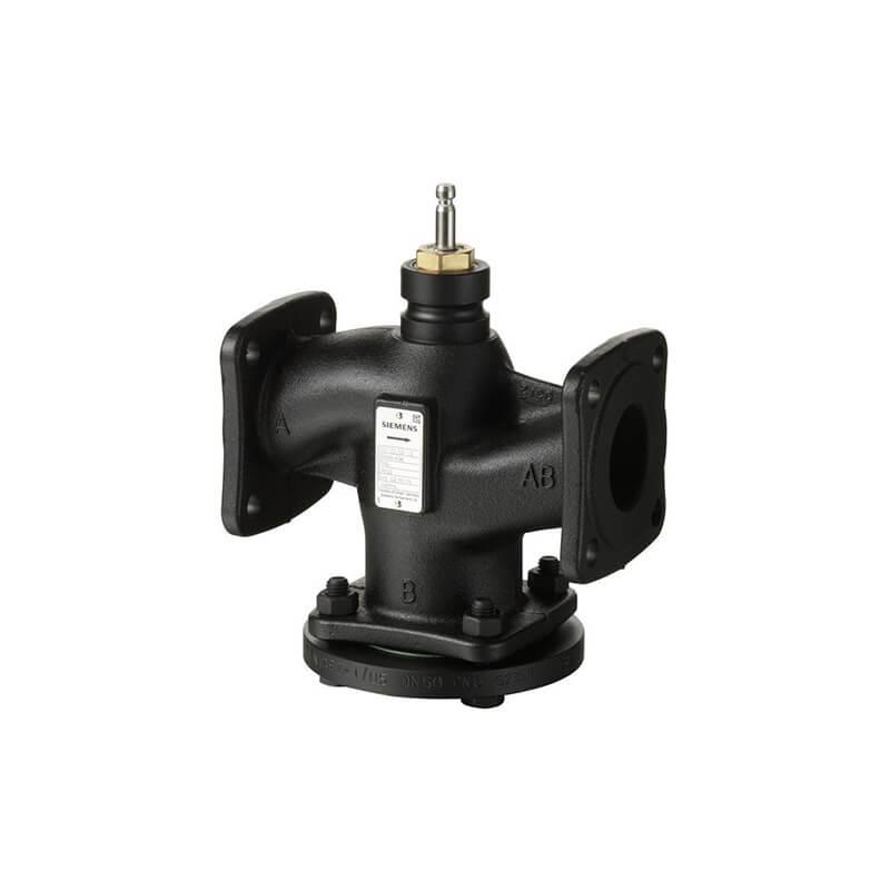Регулирующий седельный клапан Siemens VVF22 ду 65 VVF22.65-63
