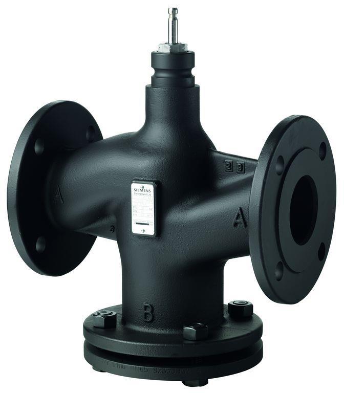 Регулирующий клапан Siemens VVF43 ду 250 VVF43.250-630K