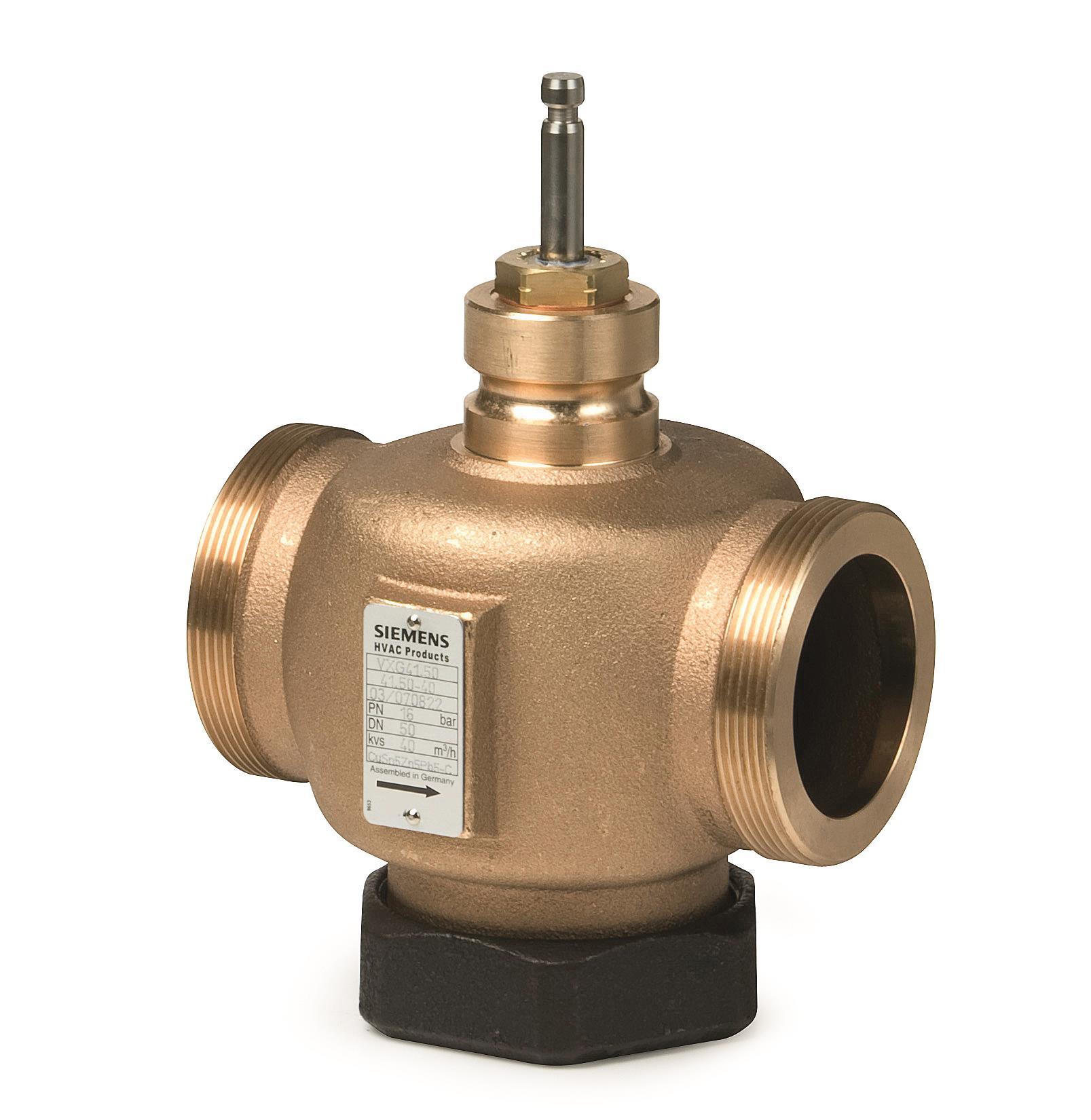 Регулирующий клапан Siemens VVG41 ду 15 VVG41.11