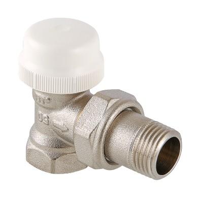 Клапан термостатический угловой Valtec VT.031.N 1/2″ ду 15 ВР/НР радиаторный VT.031.N.04