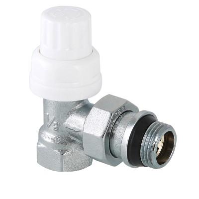 Клапан термостатический угловой Valtec VT.031.NR 1/2″ ду 15 ВР/НР радиаторный с дополнительным уплотнением VT.031.NR.04
