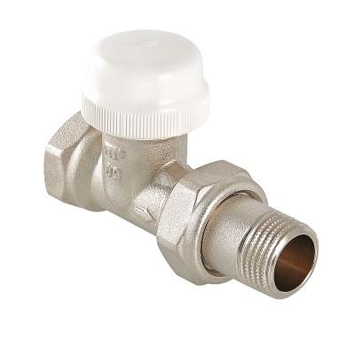 Клапан термостатический прямой Valtec VT.032.N 1/2″ ду 15 ВР/НР радиаторный VT.032.N.04