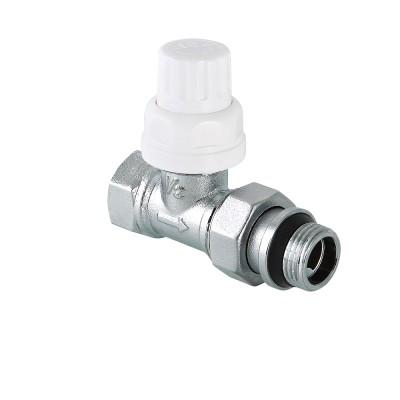 Клапан термостатический прямой Valtec VT.032.NR 1/2″ ду 15 ВР/НР радиаторный с дополнительным уплотнением VT.032.NR.04