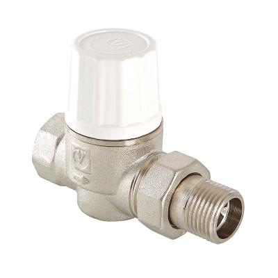 Клапан термостатический прямой Valtec VT.034.N 1/2″ ду 15 ВР/НР радиаторный повышенной пропускной способности VT.034.N.04