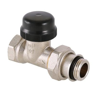 Клапан термостатический прямой Valtec VT.038.N 1/2″ ду 15 ВР с преднастройкой VT.038.N.04