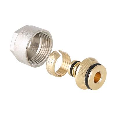 Фитинг коллекторный для металлополимерной трубы Valtec VT.4420.NE 16 (2,0) мм x 3/4″ ду 16 VT.4420.NE.16