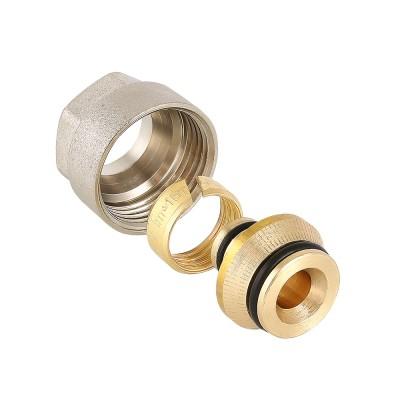Фитинг коллекторный для металлополимерной трубы Valtec VT.4420.NVE 16 (2,0) мм x 3/4″ ду 16 VT.4420.NVE.16